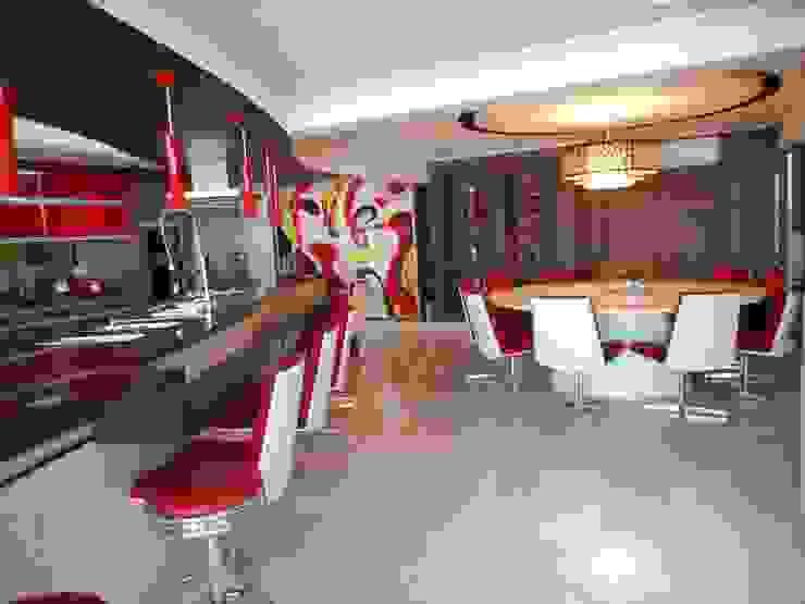 Metamorfose Arquitetura e Urbanismo Modern kitchen