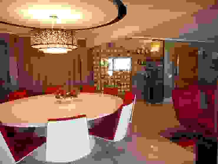 Metamorfose Arquitetura e Urbanismo Modern dining room