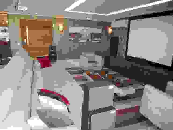 Metamorfose Arquitetura e Urbanismo Modern living room