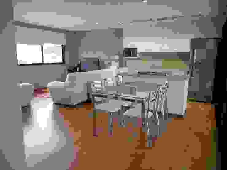 Sala Salas de jantar rústicas por Metamorfose Arquitetura e Urbanismo Rústico