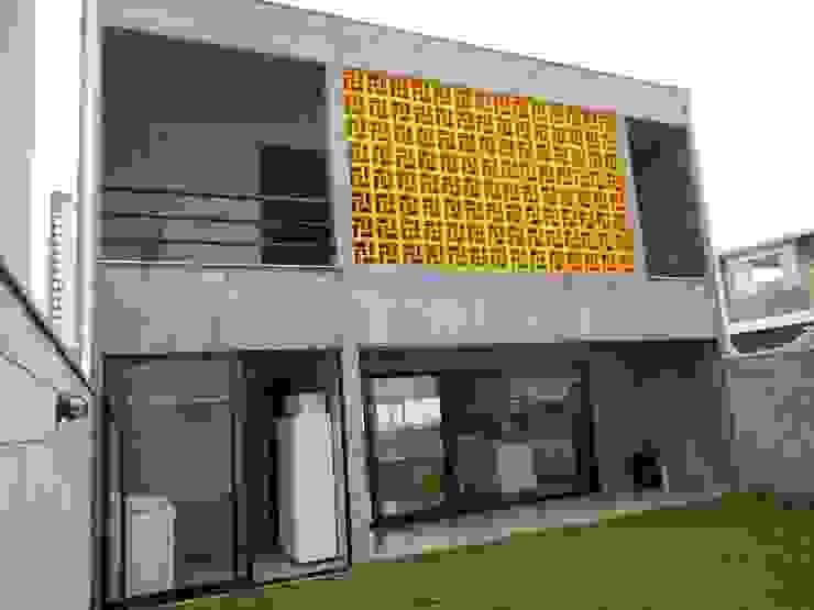fachada dos fundos Casas rústicas por Metamorfose Arquitetura e Urbanismo Rústico
