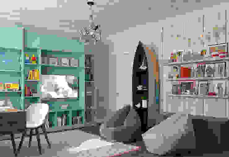 Студия дизайна Дарьи Одарюк غرفة الاطفال Multicolored