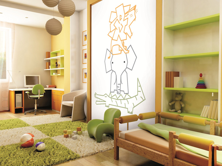 Bianchi Lecco srl Nursery/kid's roomAccessories & decoration Paper Multicolored