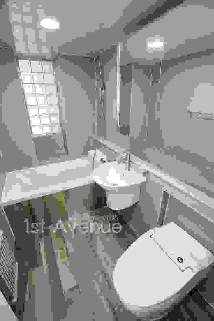 고급스러운 맞춤가구들로 꾸며진 특별함이 가득한 인테리어 퍼스트애비뉴 모던스타일 욕실