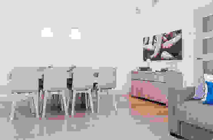 Ruang Makan Modern Oleh Estibaliz Martín Interiorismo Modern