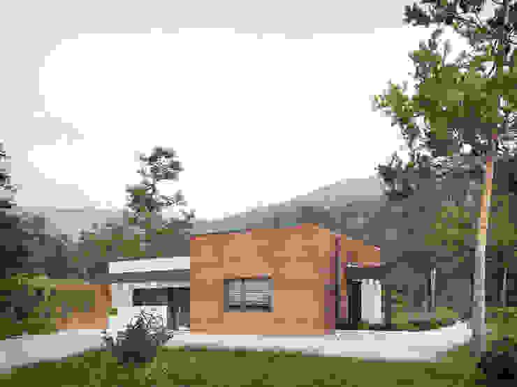 Modern home by Biuro Projektów MTM Styl - domywstylu.pl Modern