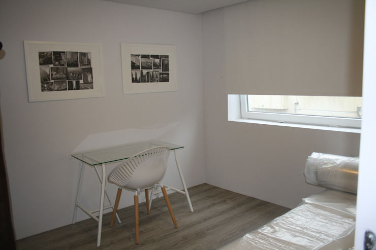 Covelo Residence – A cool home for young people por alfaengenharia - engenharia civil e acústica Minimalista