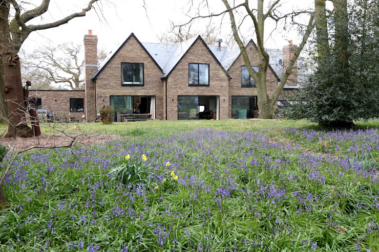 The House in the Wood:  Windows  by IQ Glass UK