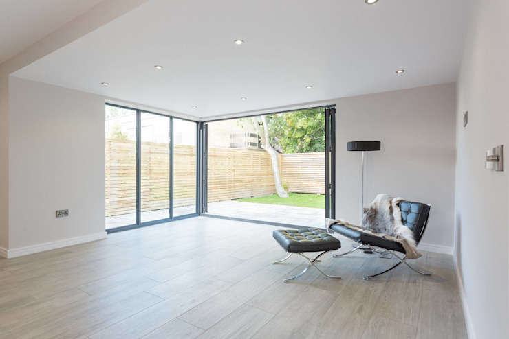Westfields Lodge Modern living room by Orange Design Studio Modern