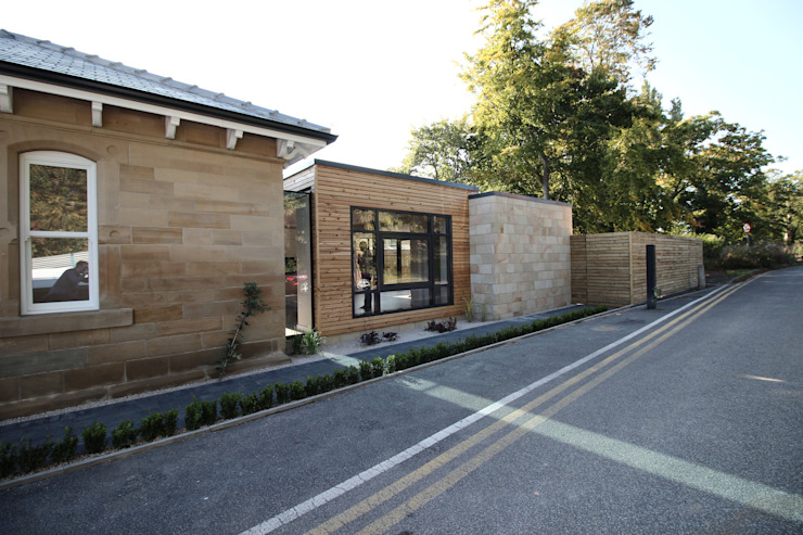 Westfields Lodge Modern houses by Orange Design Studio Modern