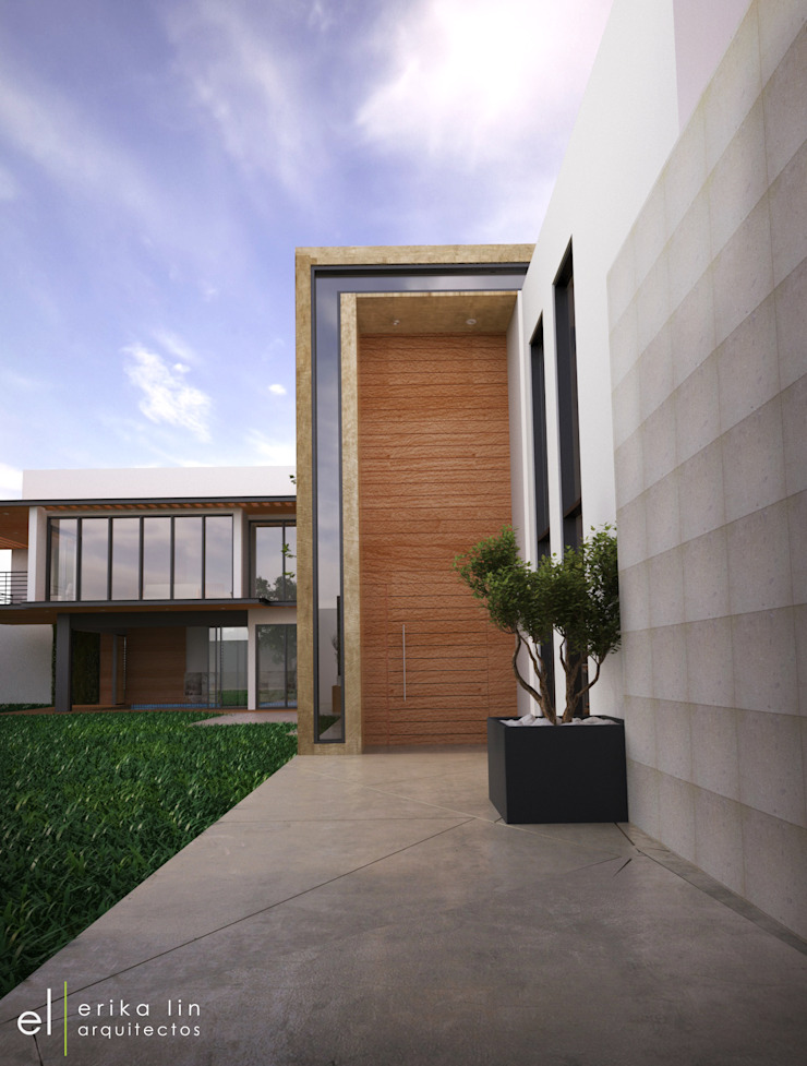 Casa San Quintin Casas modernas de ERIKA LIN Moderno Cerámico