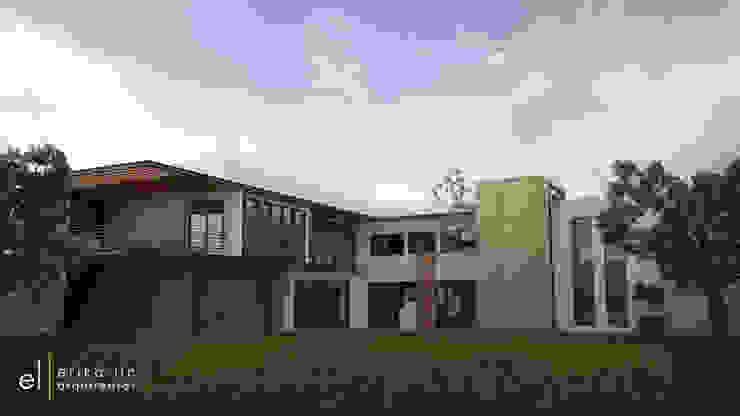 Casa San Quintin Casas modernas de ERIKA LIN Moderno Concreto