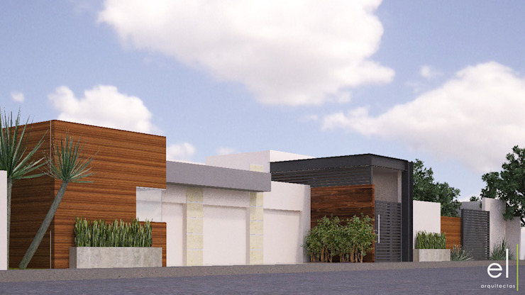 Casa Popotla Casas modernas de ERIKA LIN Moderno Madera Acabado en madera