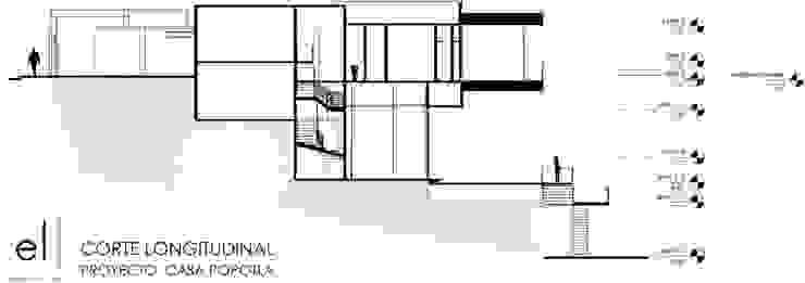 Casa Popotla Casas modernas de ERIKA LIN Moderno Concreto
