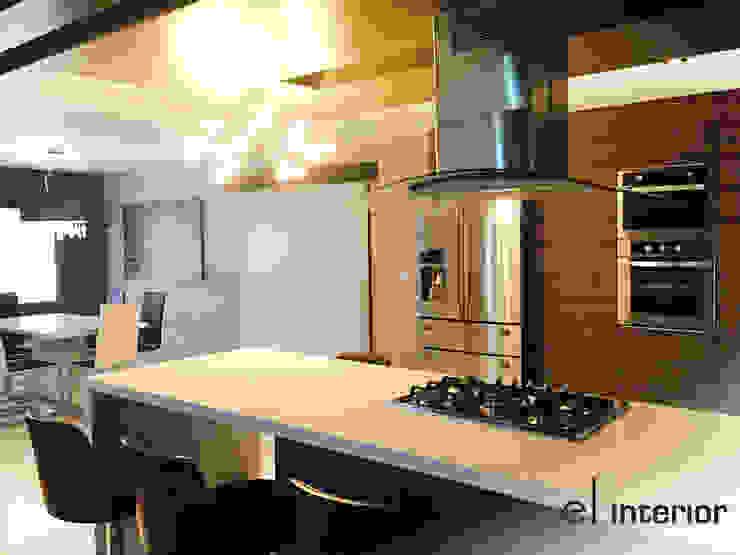 Modern Kitchen by el interior Modern Wood Wood effect
