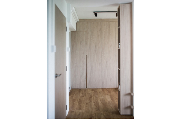 RIVERVALE DRIVE Scandinavian style bedroom by Eightytwo Pte Ltd Scandinavian