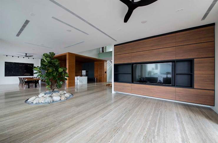 FRANKEL STREET Modern living room by Eightytwo Pte Ltd Modern