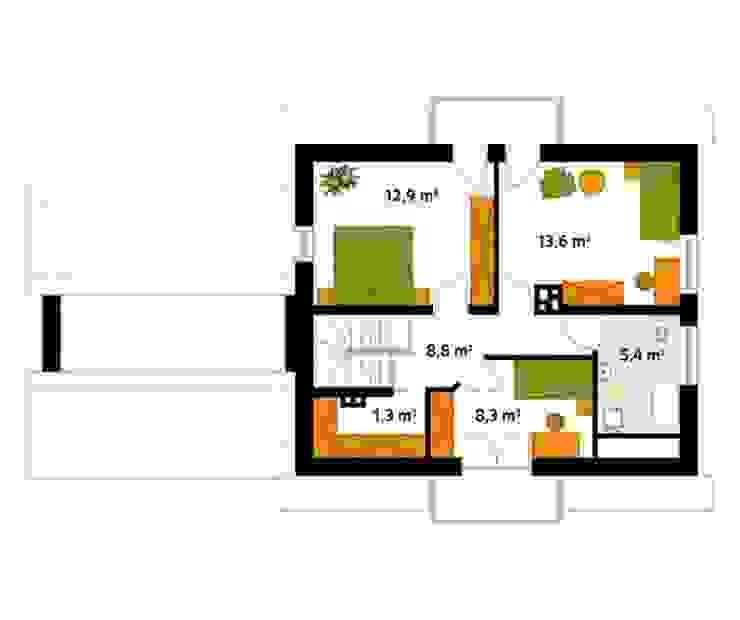 Classic style walls & floors by Biuro Projektów MTM Styl - domywstylu.pl Classic