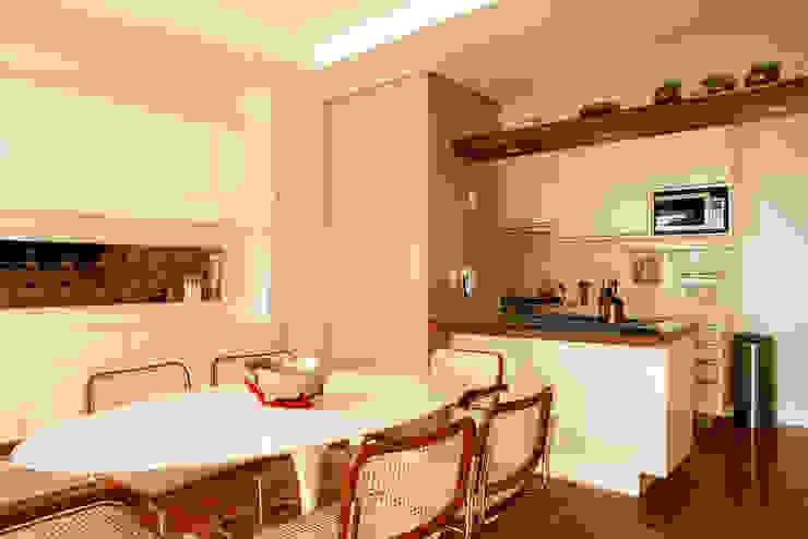 Nice De Cara Arquitetura Sala da pranzo moderna