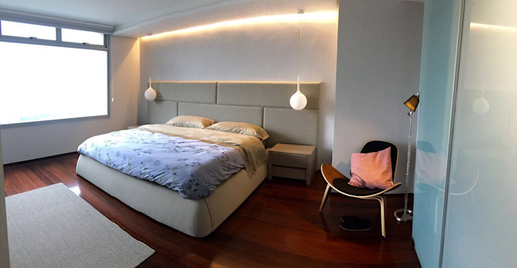 Modern style bedroom by THE muebles Modern