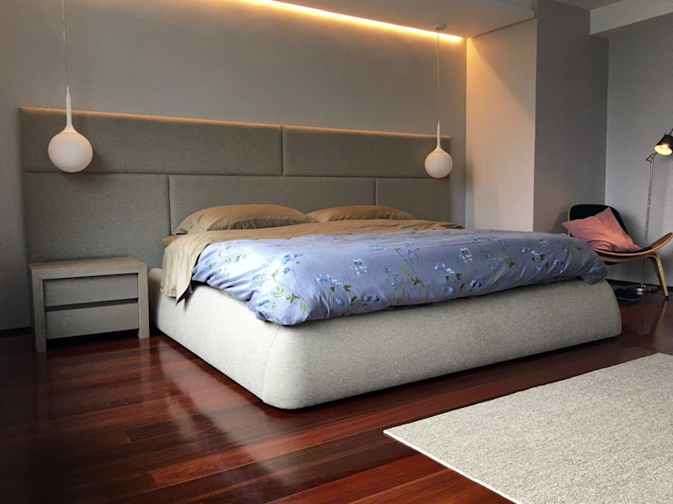 Proyecto Bello Monte Cuartos de estilo moderno de THE muebles Moderno