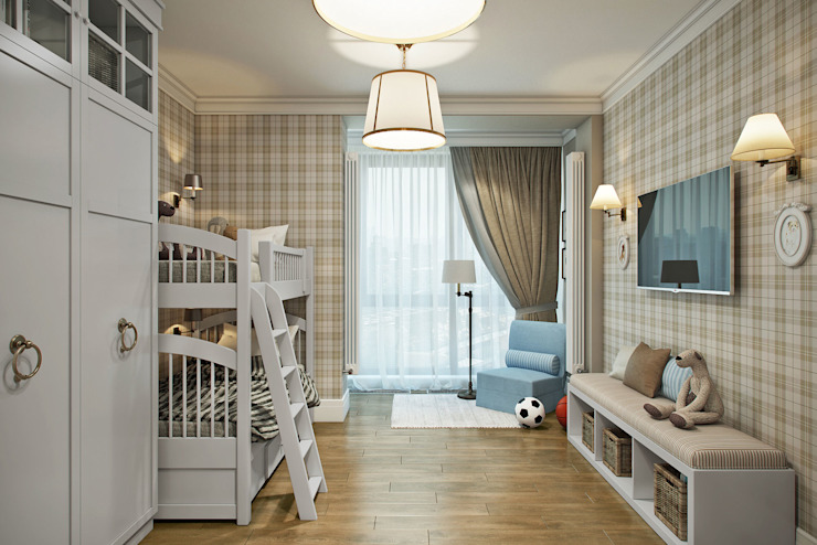 Dormitorios infantiles clásicos de Студия Семена Вишнякова '1618 ROOM' Clásico