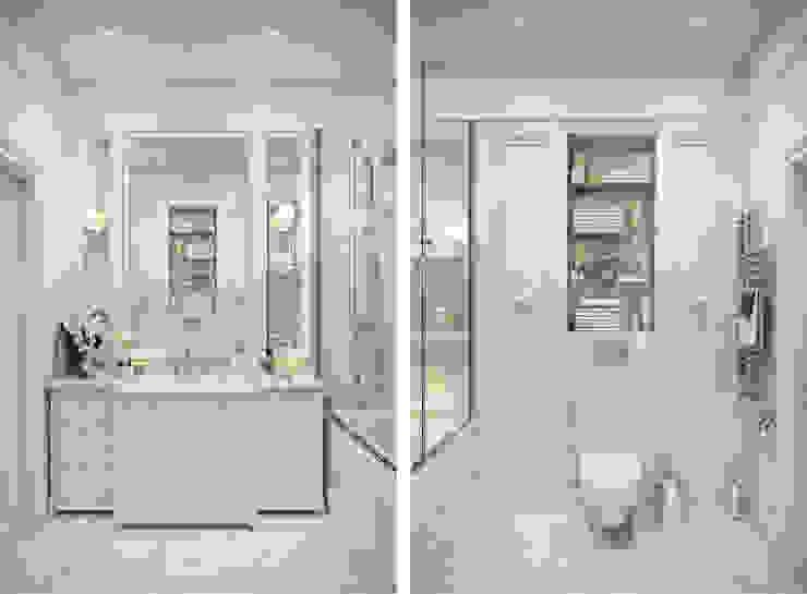 Bathroom by Студия Семена Вишнякова '1618 ROOM'