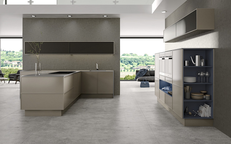 Alta Framed Fascias Deseo KitchenCabinets & shelves