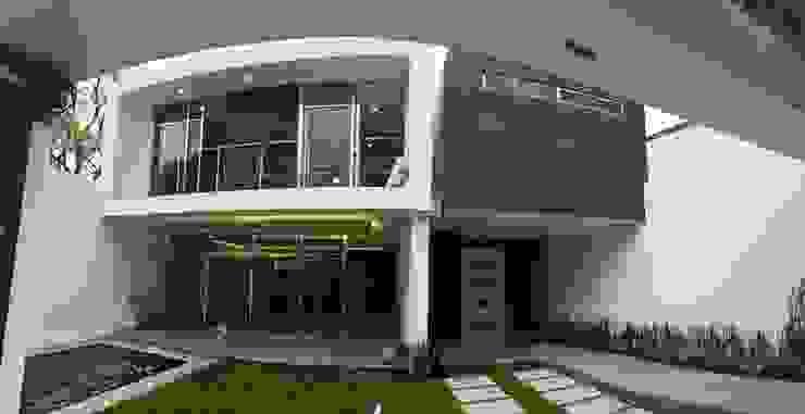 Acceso Balcones y terrazas modernos de Global Render Moderno Arenisca
