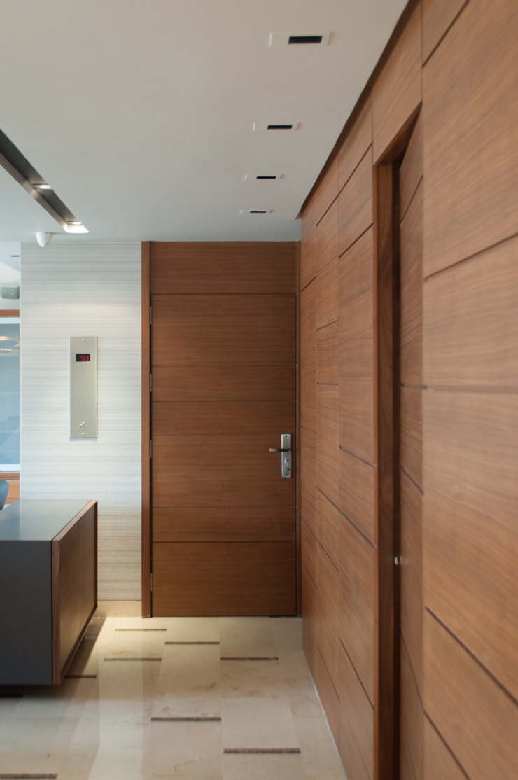 Apartamento Qvadra Sebucán Salas de estilo moderno de VODO Arquitectos Moderno