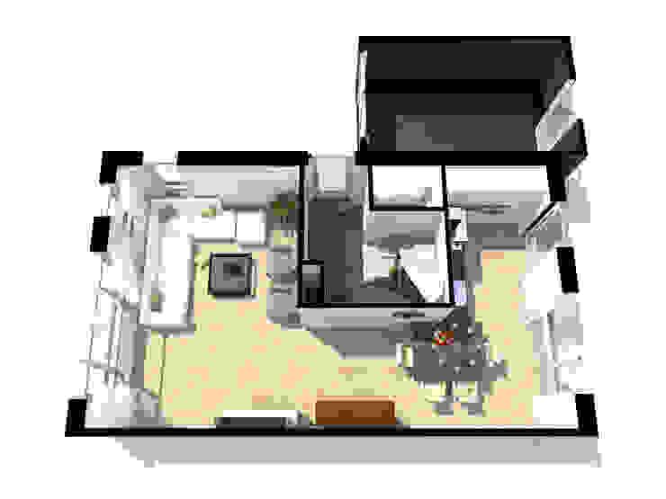 Interieur Droom Projectbouw van Droom Visualisaties
