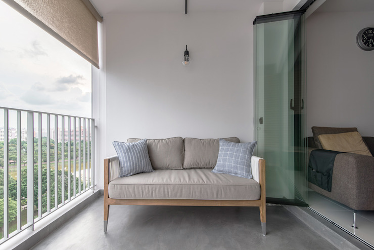 PARKLAND RESIDENCES:  Terrace by Eightytwo Pte Ltd,Scandinavian