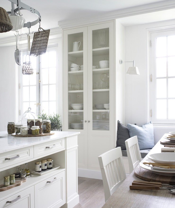 DEULONDER arquitectura domestica Cuisine rustique Blanc