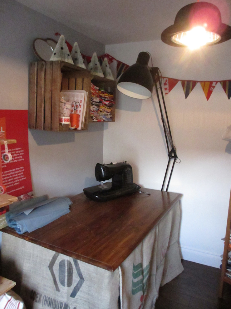 Workroom Bureau original par Little Mill House Éclectique