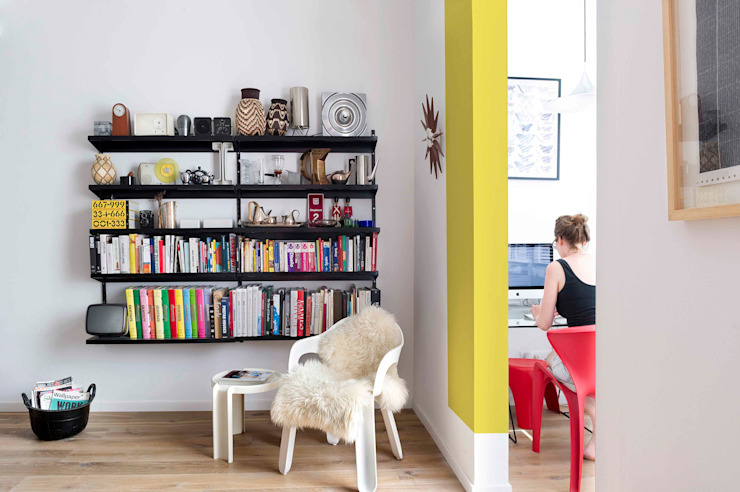 Scandinavian style study/office by Egue y Seta Scandinavian