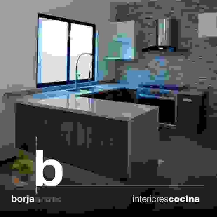 Borja Arquitectos Cocinas modernas de Borja Arquitectos Moderno
