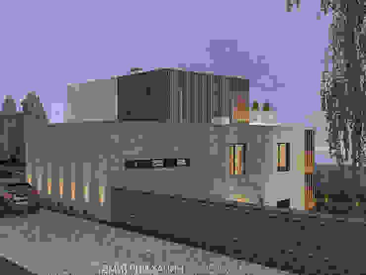Дом с видом на озеро Дома в стиле минимализм от Dmitriy Khanin Минимализм Дерево Эффект древесины