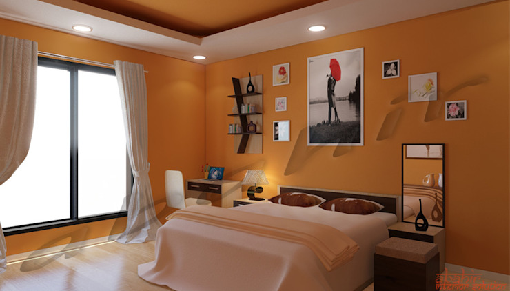 Residential Projects Modern style bedroom by Abahir Interiors Modern Plywood