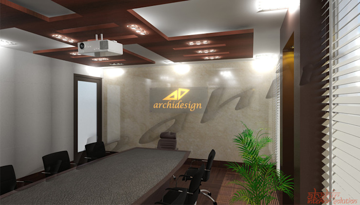 Commercial Projects by Abahir Interiors Modern Plywood