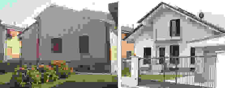CONFRONTO Case moderne di Fabio Ricchezza architetto Moderno