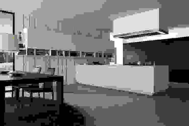 Vintage wood Pixers Modern Kitchen