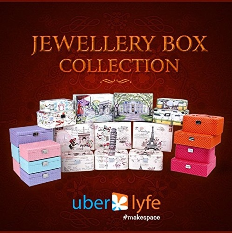 Uberlyfe Jewellery/Accessories Box by Uberlyfe