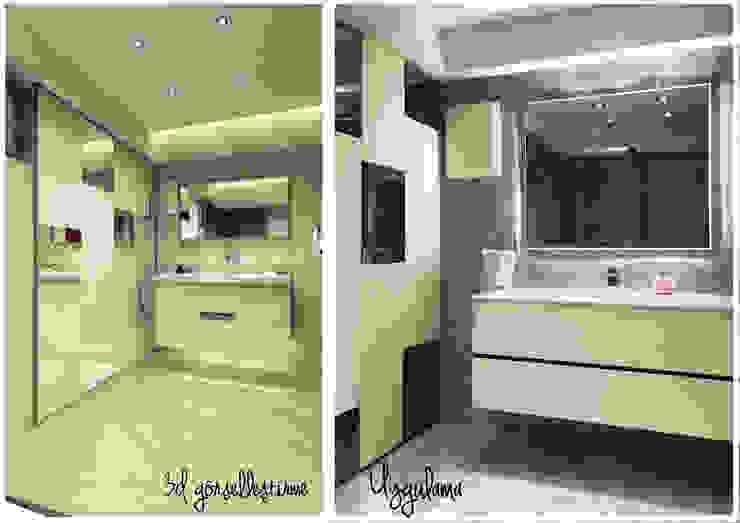 Ofis 352 Mimarlık Hizmetleri Ванная комната в стиле модерн Дерево Белый