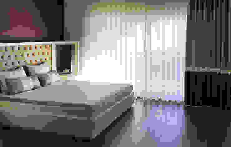 Ofis 352 Mimarlık Hizmetleri Спальня в стиле модерн Дерево Белый