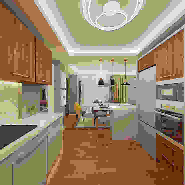 Cocinas modernas: Ideas, imágenes y decoración de Ofis 352 Mimarlık Hizmetleri Moderno