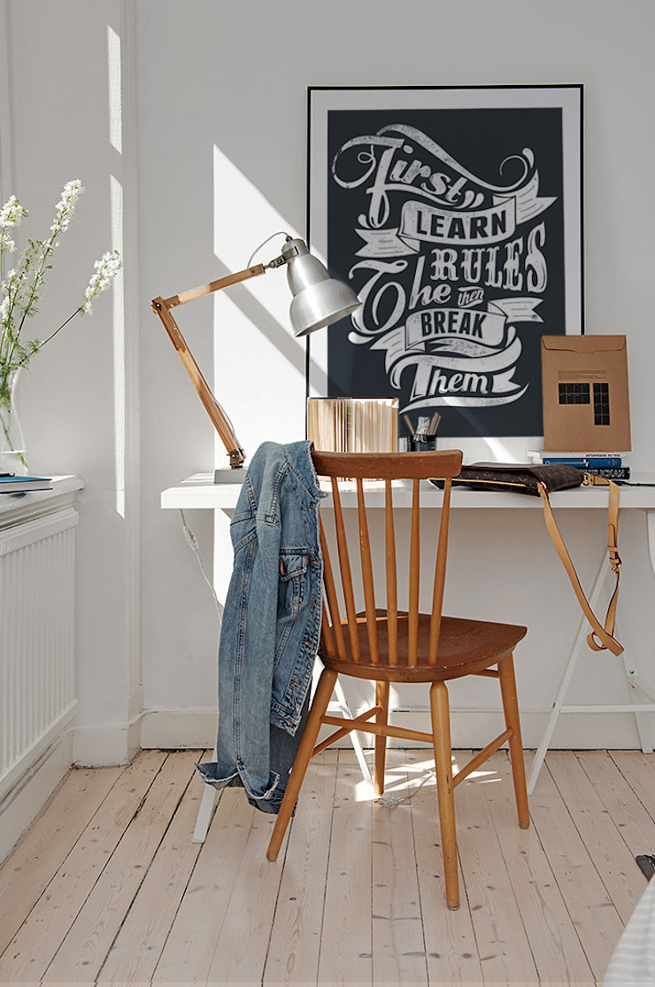 Rules Modern Study Room and Home Office by Pixers Modern