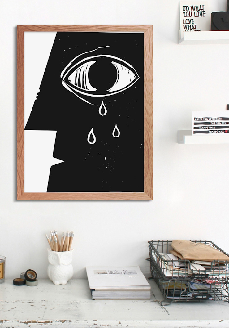 Eye Modern Study Room and Home Office by Pixers Modern