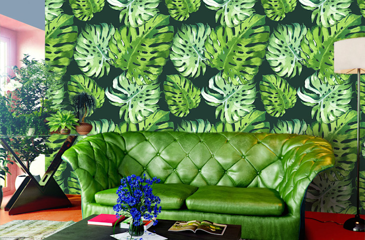 Tropical Leaves من Pixers إستعماري
