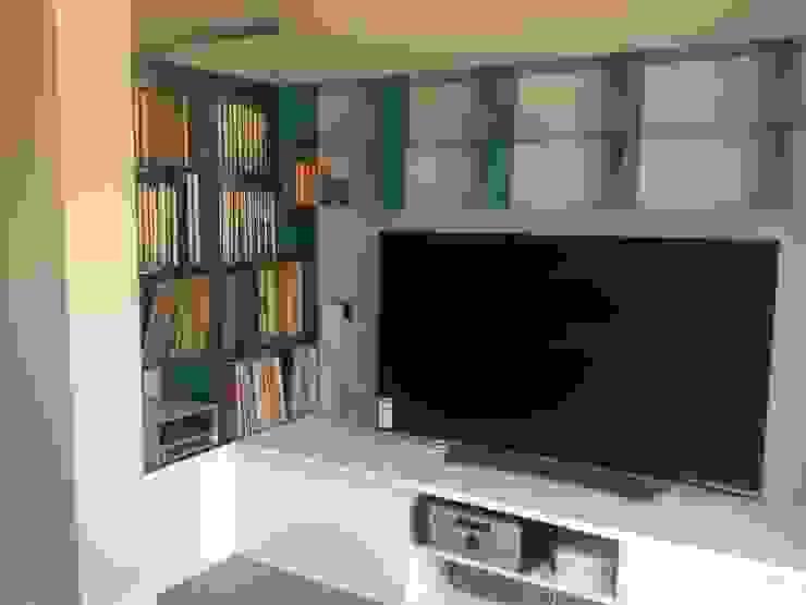 Salas de estilo moderno de CLAU21 INTERIORISMO Y CONSTRUCCIÓN Moderno