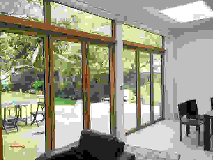 Rear Bi-folding Doors - As Built by Arc 3 Architects & Chartered Surveyors